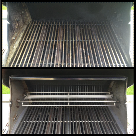 Canadian BBQ Boys BBQ Cleaning Service - Before and After Picture