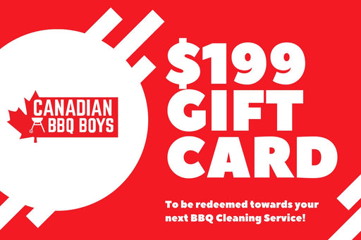 $199.99 BBQ Cleaning Service Gift Card