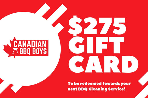 $275 BBQ Cleaning Service Gift Card
