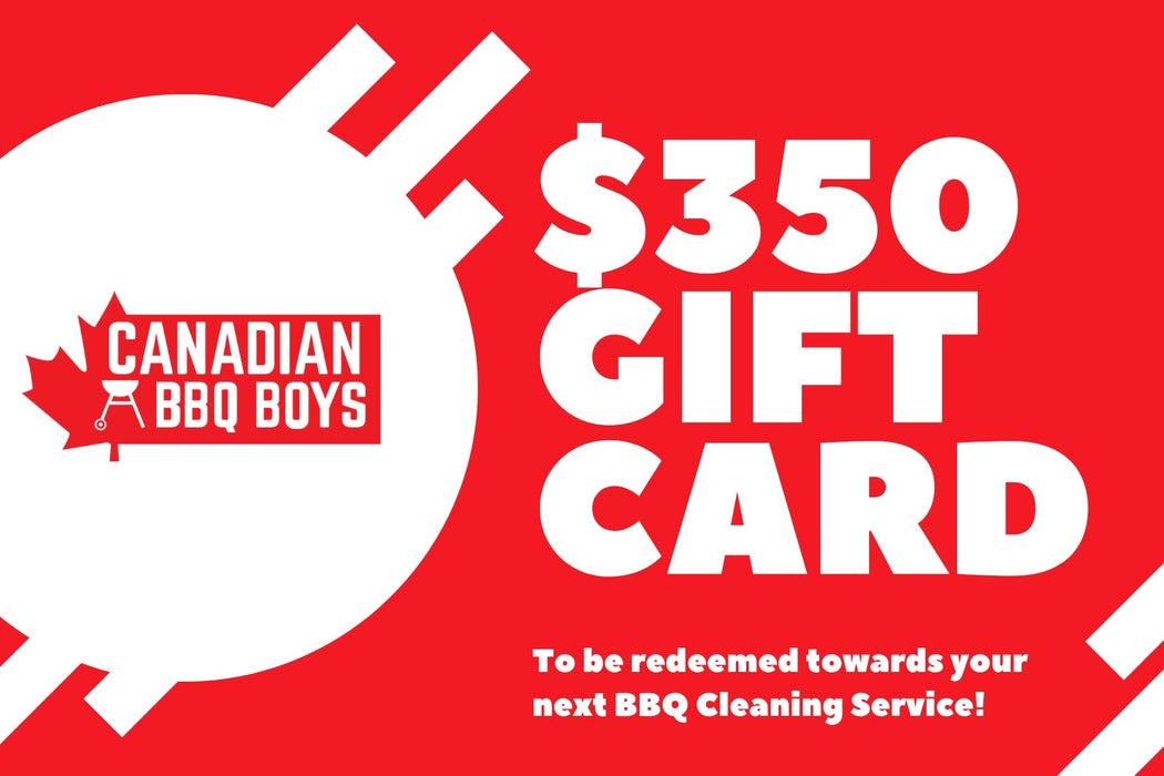 $350 BBQ Cleaning Service Gift Card