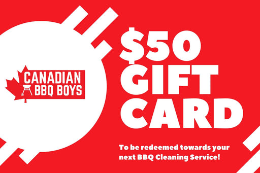 $50 BBQ Cleaning Service Gift Card