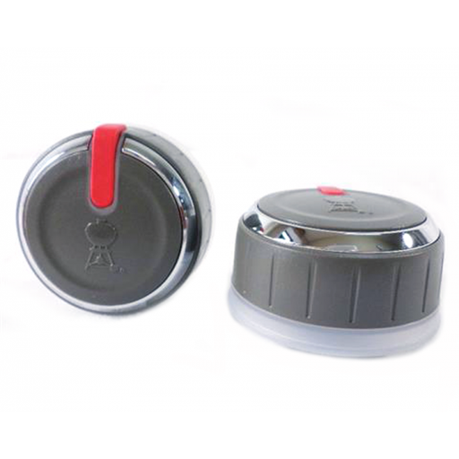 Weber OEM Lighted Control Knob Set (2 Pack)