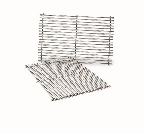 Weber Stainless Steel Cooking Grates (Fits Genesis 300 Series with front mounted control panel)