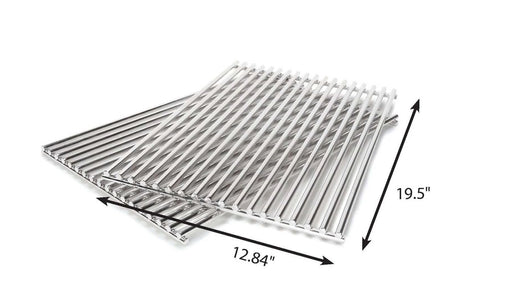Grill Care 17528 Stainless Steel Grids - 2pc (Weber Grills)