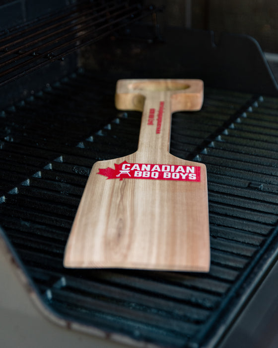 Wooden BBQ Scraper (MADE IN CANADA)