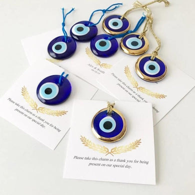 Evil eye luxury wedding favors, 50Pcs. - Evileyefavor
