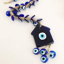 Large evil eye new home gift with 41 beads - Evileyefavor