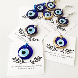 Unique evil eye wedding favors, 50 pcs - Evileyefavor