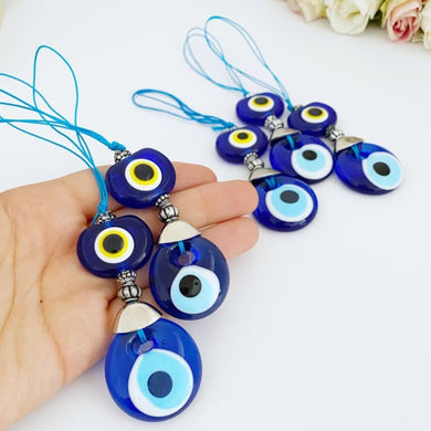 Evil Eye Car Accessories, Christmas Tree Ornament, Blue Evil Eye Bead