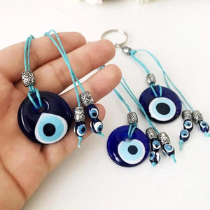 Evil eye bag charm accessories - Evileyefavor