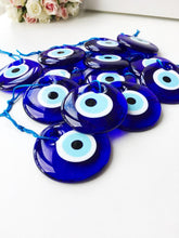 Blue Evil Eye Bead, 7cm, Greek Evil Eye, Christmas Tree Decor