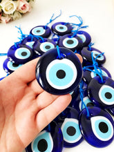 Evil Eye Wall Hanging, Blue Evil Eye Beads, Glass Evil Eye Collection