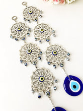 Evil eye blue wall decor three sunflower - Evileyefavor