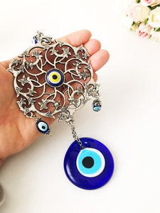 Evil eye blue wall decor - Evileyefavor