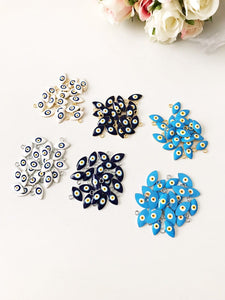 20 pcs Blue evil eye beads, bulk set nazar boncuk - Evileyefavor