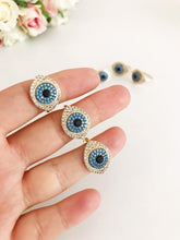Adjustable Ring, Evil Eye Ring, Evil Eye Charm Ring, Evil Eye Jewelry