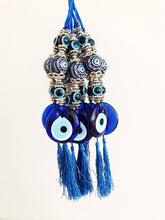 Evil eye wall hanging with ceramic ball - Evileyefavor