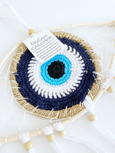 Handmade Evil Eye Dream Catcher, Evil Eye Protection Dreamcatcher, Boho Style