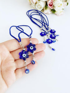 Evil Eye Beads, Car Rear Mirror Charm, Evil Eye Decor
