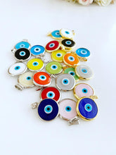 Handmade Glass Evil Eye Bead, Murano Evil Eye Charm, Evil Eye Jewelry Supply