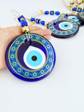 Evil Eye Home Decor, 11cm, Patterned Wall Hanging