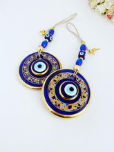 Handpainted Evil Eye Wall Hanging, Evil Eye Wall Decor, Lucky Gift