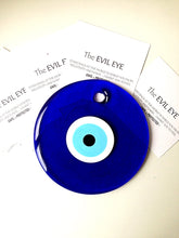 evil eye bead - 13cm - evil eye wall hanging - evil eye charm - large evil eye - Evileyefavor