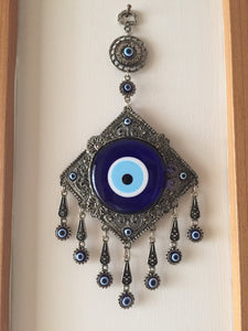 Metal Evil Eye Wall Hanging - Evileyefavor