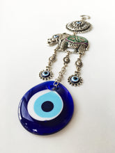Lucky Elephant Evil Eye Wall Hanging - Evileyefavor