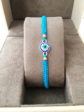 Evil Eye Charm Bracelet, Adjustable Thread Bracelet - Evileyefavor