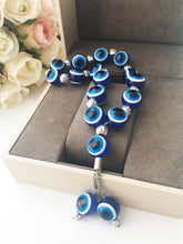 Greek resin evil eye beads komboloi - Evileyefavor