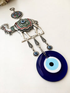 Large Camel Evil Eye Wall Hanging - Evileyefavor