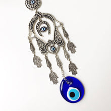 Large Hamsa Evil Eye Wall Hanging - Evileyefavor
