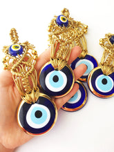 Gold Evil Eye Christmas Tree Ornaments - Evileyefavor
