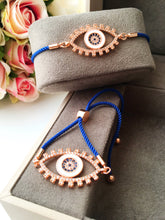 Evil Eye Bracelet, Adjustable String Bracelet - Evileyefavor
