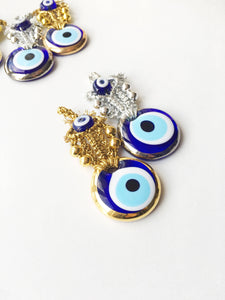 5 pcs Wedding favors for guest, nazar boncuk, evil eye, unique wedding favors - Evileyefavor