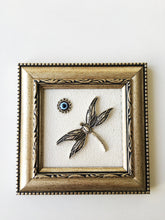 Dragonfly Framed Wall Decor - Evileyefavor