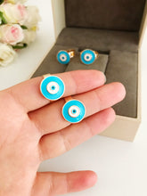 Adjustable evil eye ring - Evileyefavor
