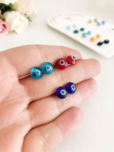 Minimalist Evil Eye Stud Earrings - Evileyefavor