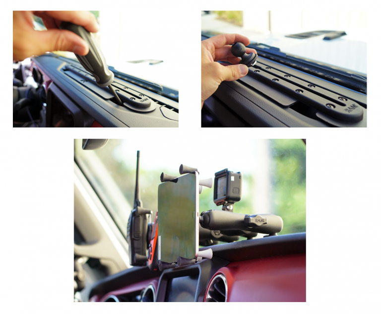 How to Mount Your Gadgets on a Jeep Wrangler and Jeep Gladiator