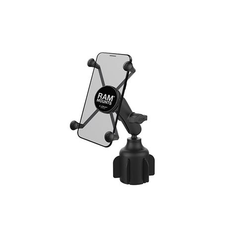 RAM® X-Grip® Large Phone Mount with RAM® Stubby™ Cup Holder Base (RAP-B-299-4-UN10U)