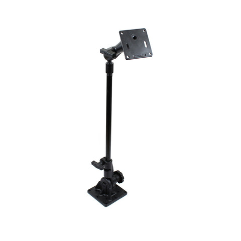 "RAM Pedestal Mount with 18"" Pipe and C Size 1.5"" Ball Mount with 75mm VESA Plate (RAM-101U-UK3) - RAM Mount Australia"