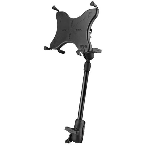 "RAM-238-WCT-9-UN9 RAM X-Grip Wheelchair Seat Track Mount for 9""-10"" Tablets-image-1"