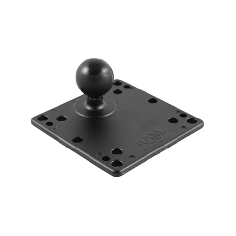 "RAM 4.75"" Square Base with VESA Hole Patterns & 1.5"" Ball (RAM-246-AD1U) - RAM Mounts Australia - Mounts AU"