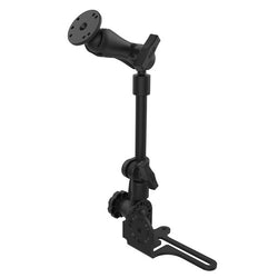 "RAM Pod HD Vehicle Mount with 12"" Aluminum Rod and Round Plate (RAM-316-HD-202U)"