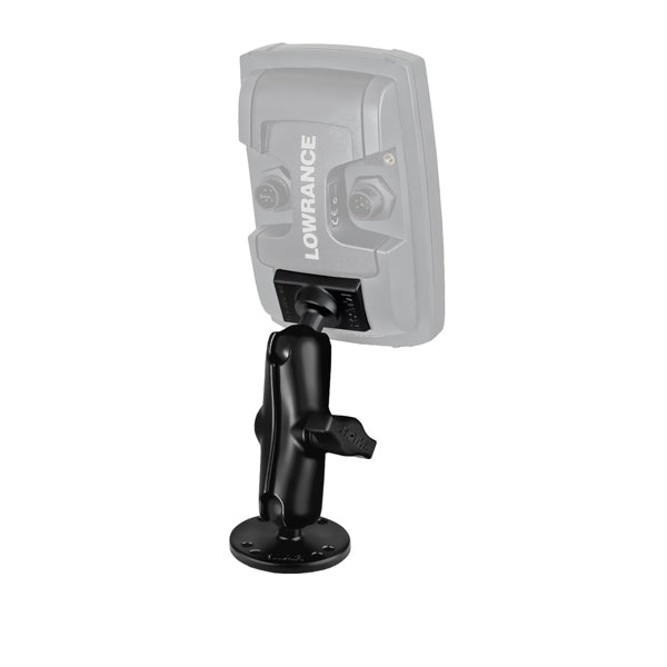 RAM Marine Electronic Ball Mount for Lowrance Elite-4 & Mark-4 Series Fishfinder (RAM-B-101-LO11) - RAM Mount Australia