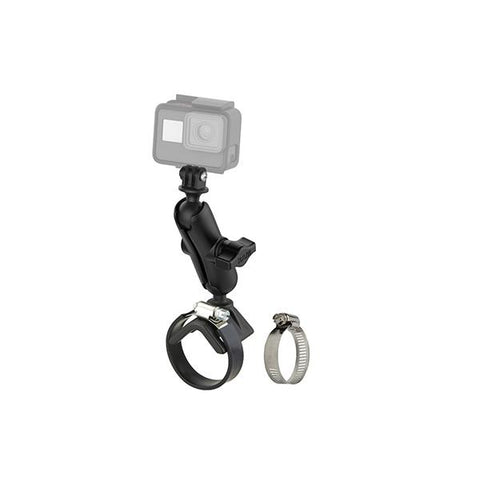 RAM® Strap Clamp Mount with Universal Action Camera Adapter (RAM-B-108-GOP1U)