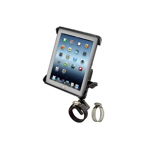 RAM® Tab-Tite Mount with Strap Hose Clamp Base for iPad Gen 1-4 + More (RAM-B-108-TAB3)