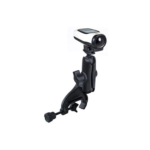RAM® Double Ball Yoke Clamp Mount with Garmin VIRB Camera Adapter (RAM-B-121-GA63U)