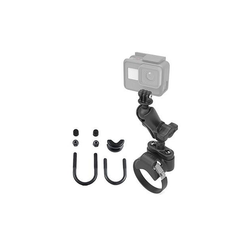 RAM® ATV/UTV Handlebar U-Bolt Mount with Action Camera Adapter (RAM-B-149Z-2-GOP1U)